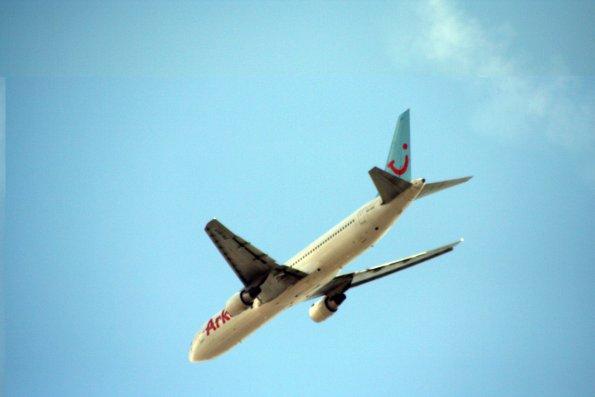 Abstuerzendes-Flugzeug