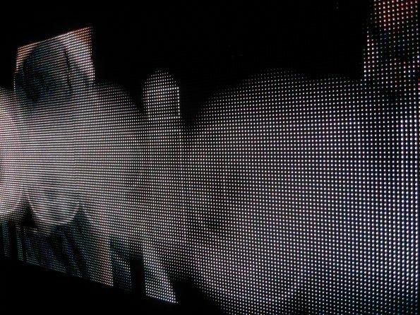 Digital-Video-Wand-Lichter