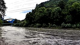 Illustration Fluss Pano