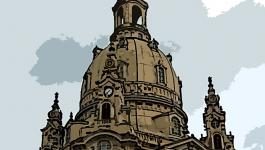 Illustration Kirche Dresden